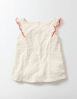 Mini Ecru Serena Tank Top