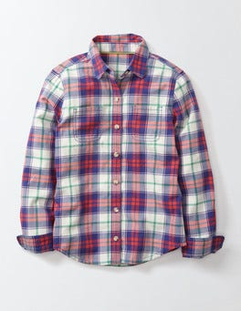 Starboard Summer Poppy Check Check Shirt