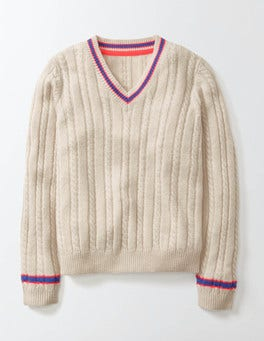 Ecru Marl Kate Jumper