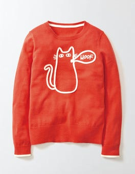 Rosehip Cat Naomi Sweater