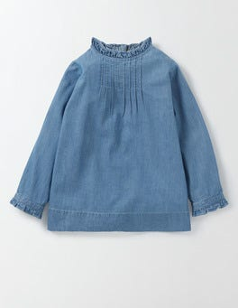 Light Chambray Phoebe Top