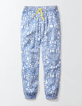 Nautical Toile Rowena Pants