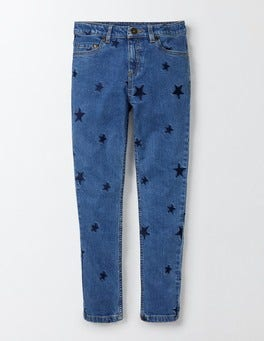 Mid Vintage Embroidered Jeans
