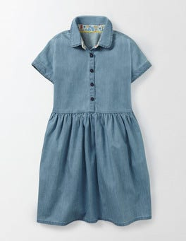 Light Chambray Claudia Dress
