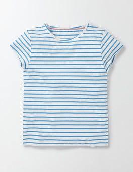 Ivory/ Bright Bluebell Stripe PJ T-Shirt