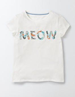 MEOW Logo PJ T-Shirt