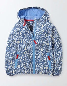 Nautical Toile Rebecca Jacket