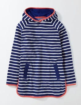 Starboard/Ivory Stripe Towelling Dress
