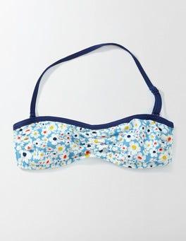Bright Bluebell Daisy Bikini Halter Top