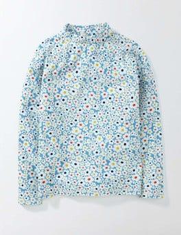 Bright Bluebell Daisy Rash Vest