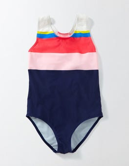 Rainbow Striped Swimsuit