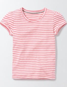 Short Sleeve Pointelle T-shirt