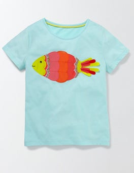 Light Surf Fish Fauna T-Shirt