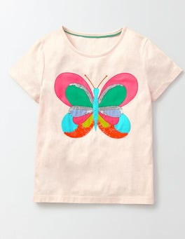 Pink Icing Butterfly Fauna T-Shirt
