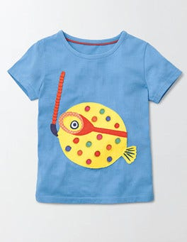 Aquatic Appliqué T-Shirt