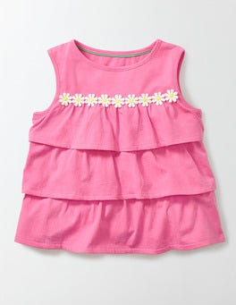 Pink Fizz Pretty Ruffle Top