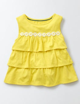 Pineapple Pretty Ruffle Top