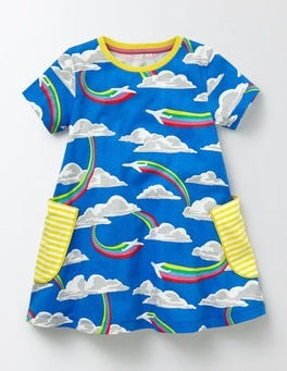Skipper Rainbow Jets Summer Tunic