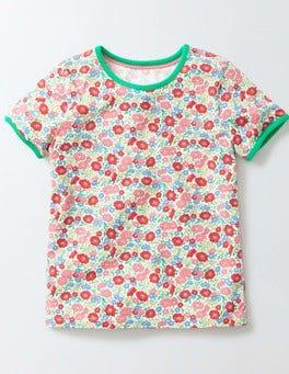 Pink Fizz Flower Bed Flower Bed T-Shirt