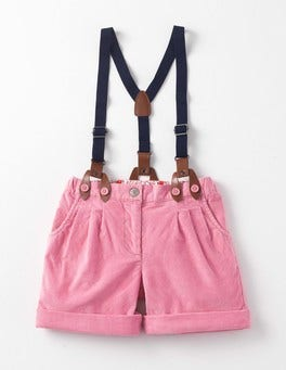 Formica Pink Cord Everyday Shorts