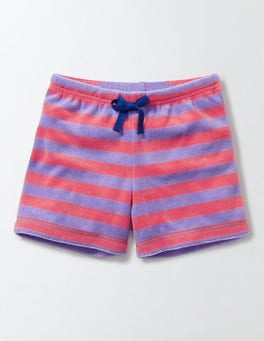 Light Purple/Neon Grapefruit Adventure Towelling Shorts