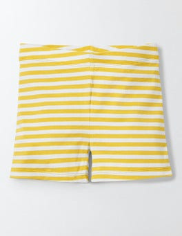 Mimosa/Ivory Stripe Essential Jersey Shorts