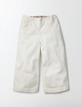 Ivory Summer Holiday Trousers