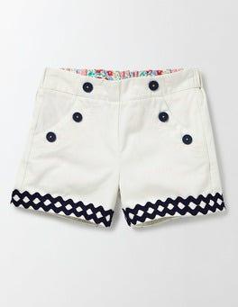 Ivory Bright Adventure Shorts