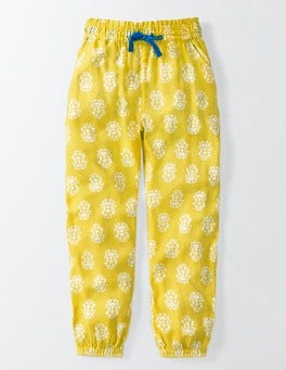 Pineapple Woodblock Printed Pants