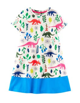 Multi Florasaurus Florasaurus Colourblock Dress