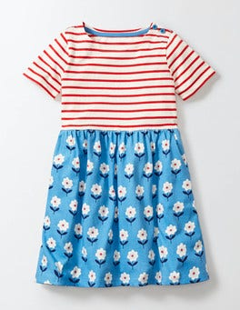 Summer Hotchpotch Jersey Dress