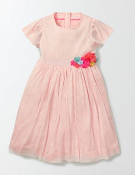 Provence Dusty Pink Twirly Party Dress