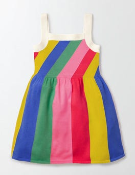 Skipper Multi Stripe Summer Knitted Dress