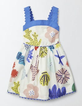 Multi Anemone Fifties Summer Dress