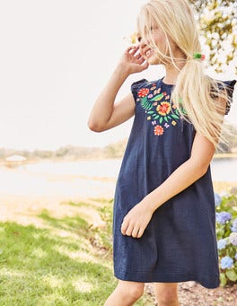 Summer Appliqué Dress