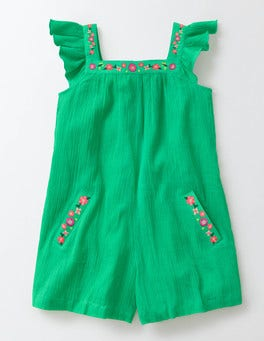 Mint Floaty Woven Playsuit