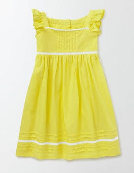 Pineapple Lace Insert Dress