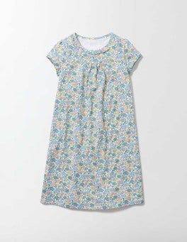Multi Flower Bed Printed Nightie