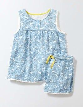 Bright Bluebell Bunnies Pretty Pyjama Set