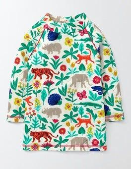 Multi Tropical Garden Fun Rash Vest