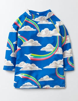 Skipper Rainbow Jets Fun Rash Vest