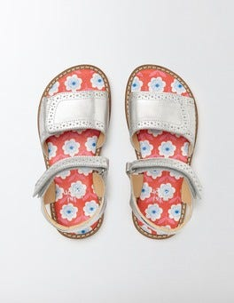 Leather Velcro Sandals