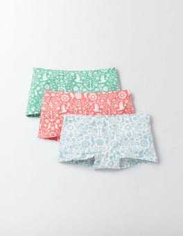 Nautical Toile Pack 3 Pack Shorts