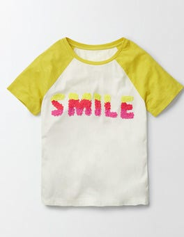 Ivory/Mimosa Smile Kendal T-shirt