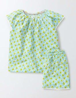 Sail Lemons Summer Woven PJ Set
