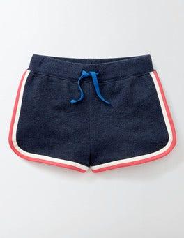 Indigo Marl Jersey Shorts