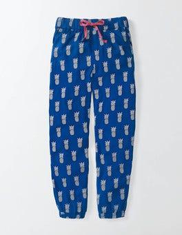 Island Sapphire Pineapples Rowena Trousers
