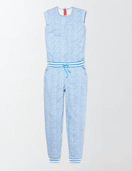 Bright Bluebell Poppy Ditsy Betina Jumpsuit