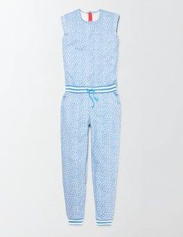 Bright Bluebell Poppy Ditsy Betina Jumpsuit