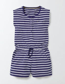 Starboard/Ivory Stripe Abigail Playsuit